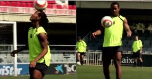 The truth about Ronaldinho's legendary crossbar challenge - was it fake or not?