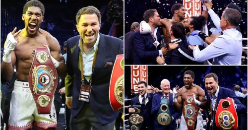 Anthony Joshua reveals why he rejected £10 million offer to leave Eddie Hearn