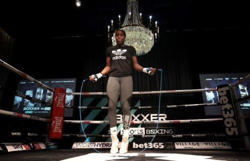 Caroline Dubois: British fighter thanks Claressa Shields for her 'amazing' advice