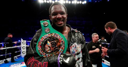 Dillian Whyte's next opponent revealed by promoter Eddie Hearn
