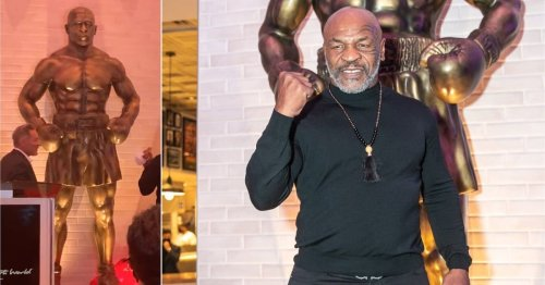Fans are ridiculing Mike Tyson's new Las Vegas statue for looking nothing like Mike Tyson