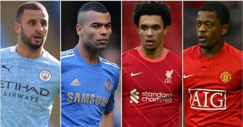 Shearer & Richards both think Alexander-Arnold is the 3rd greatest Premier League full-back ever