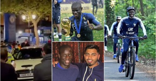 18 times N'Golo Kante proved he's the most humble guy ever as he drives Mini Cooper home