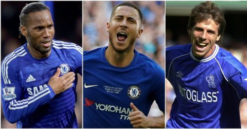 Eden Hazard named Chelsea's fourth-greatest player of all time in top 30 ranked by fans