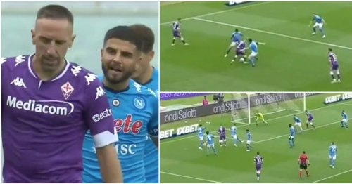 Franck Ribery, 38, put Napoli in a trance with outrageous superglue dribbling in Serie A