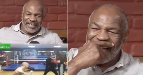 Mike Tyson reacts to video of Deontay Wilder beating racist troll to a pulp