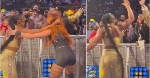 Video emerges of fan whipping Becky Lynch with her hair during WWE SmackDown dark match