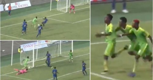 15-year-old Mizak Asante scored a Puskas-worthy solo goal and it's absolutely ridiculous