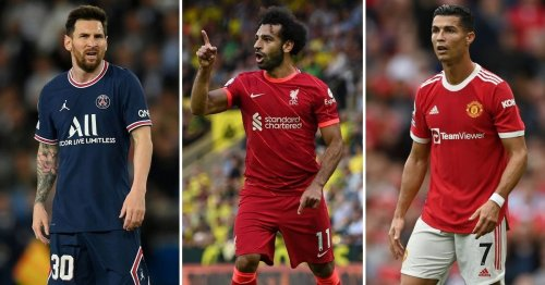 Lionel Messi and Cristiano Ronaldo are 'not as good as Mohamed Salah right now'