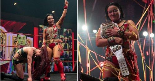 Meiko Satomura ends Kay Lee Ray's incredible 649 day run as NXT UK Women's Champion