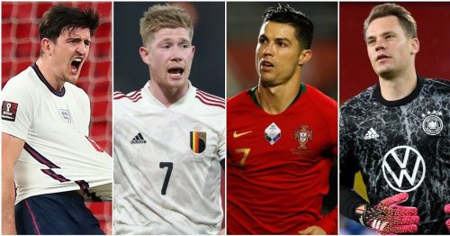 The top 10 players in each major position at Euro 2020 have been named and ranked