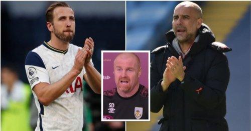 Sean Dyche was truly baffled after hearing Man City 'had bid £160m for Harry Kane'