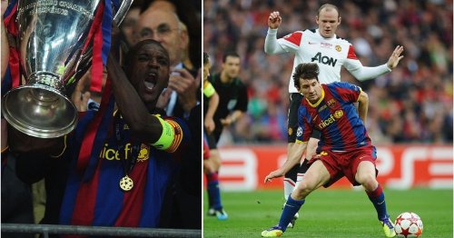 Eric Abidal's story about Man Utd players begging for mercy in the 2011 CL final is brilliant