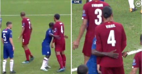 N'Golo Kante marking Virgil van Dijk from a corner is one of football's biggest mismatches