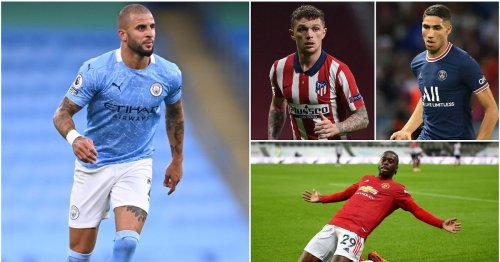 The 10 best right-backs in the world have been named - Kyle Walker 4th