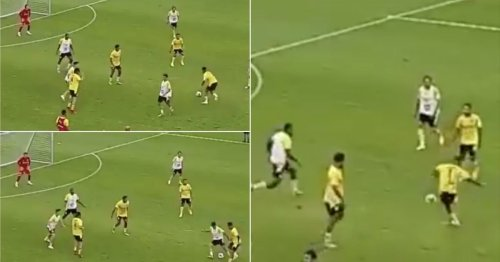 Jadon Sancho once dropped a skill so saucy that it caused its victim to walk off the pitch