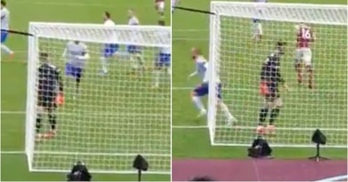 Luke Shaw's reaction after David de Gea saved Mark Noble's penalty was comedy gold
