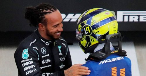 Lewis Hamilton and Lando Norris revealed how their different tyre calls led to dramatic Sochi finale