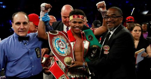 Shakur Stevenson wants Emanuel Navarrete or Jamel Herring if he gets past Jeremiah Nakathila