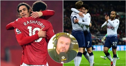 'Tottenham's front three is still better than Manchester United's front three'