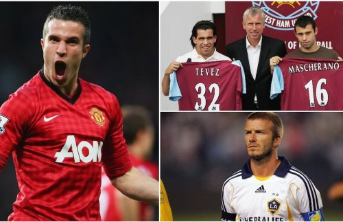 Beckham, Figo, Tevez: The 55 most shocking transfer deals of all time