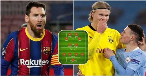 Naming the 2020/21 Champions League Team of the Season - Lionel Messi makes the cut