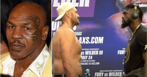 Mike Tyson has made his prediction for Tyson Fury vs Deontay Wilder 3