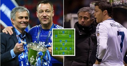 Jose Mourinho selected the best XI of players he's managed and it's stacked with talent