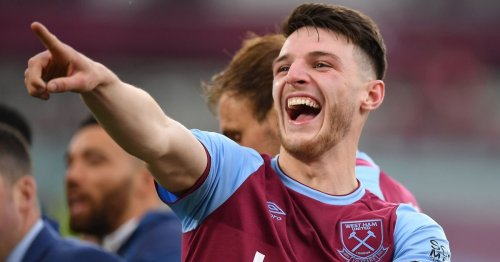 Man United have received 'assurances' that Declan Rice is open to leaving London