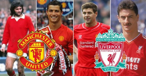 The 20 greatest Man Utd and Liverpool players of all time have been voted for by fans