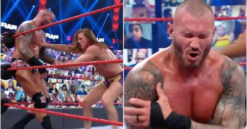 Randy Orton reportedly suffered a shoulder injury during match with Riddle on RAW