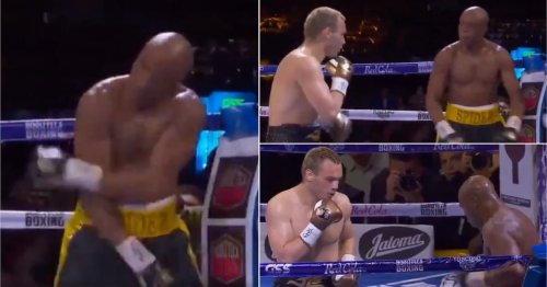 Anderson Silva's return to boxing was so easy that he started brutally taunting his opponent