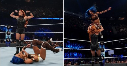 Becky Lynch pinned for first time in 991 days on WWE SmackDown last night