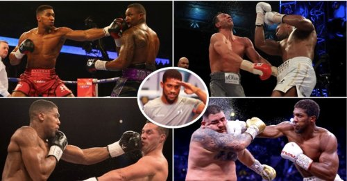 Anthony Joshua has made £175 million from purses ALONE in his last 11 fights