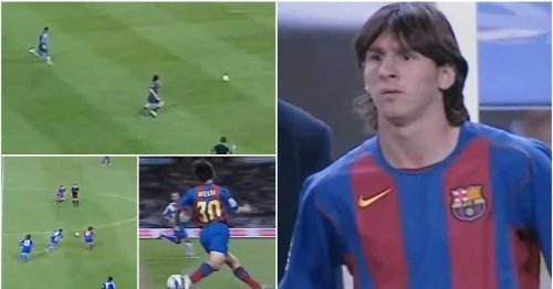 Highlights of Lionel Messi's Barcelona debut 17 years ago today hinted at his insane talent