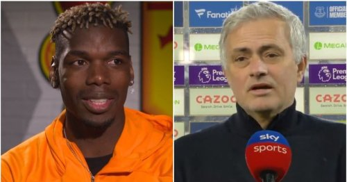 Jose Mourinho fires back after Paul Pogba slams his man-management skills