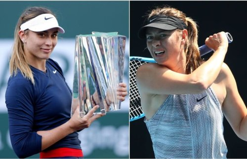 Maria Sharapova: Paula Badosa honoured by comparisons to her tennis 'idol'