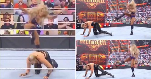 The truth behind Charlotte Flair's 'botch' vs Rhea Ripley at Hell in a Cell explained