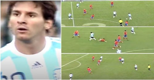 Lionel Messi made prime Spain look like amateurs with the greatest assist that never was