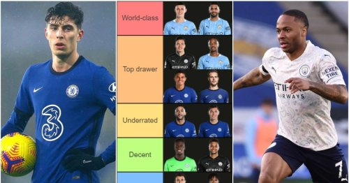 Ranking Man City and Chelsea's squads from 'World-class' to 'Sell ASAP' ahead of semi-final