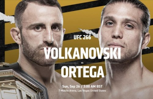 UFC 266: Date, Location, Card, UK Start Time And Everything You Need To Know