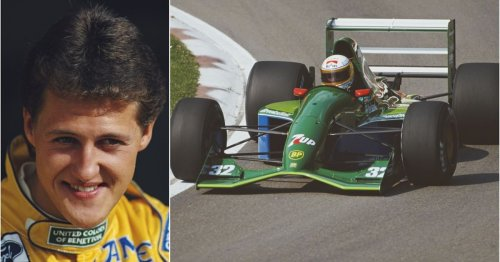 Michael Schumacher's first ever F1 car, the iconic Jordan, is on sale for a cool £1.5 million
