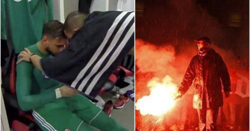 AC Milan ultras left Gianluigi Donnarumma in tears after confronting him ahead of Juve clash