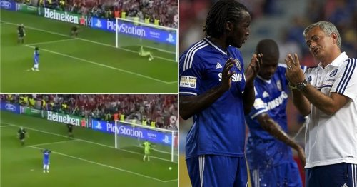 Romelu Lukaku's last kick in a Chelsea shirt affected him so much he had to leave