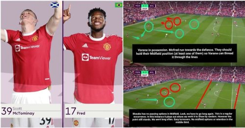 Man Utd fan's viral analysis of 'McFred' pairing shows the alarming problem it's causing