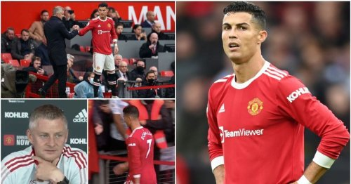 Cristiano Ronaldo has 'demanded Solskjaer starts him in every PL game' after Everton snub