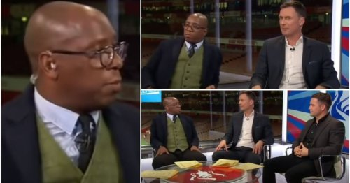 Ian Wright completely shutting down Chris Sutton & Michael Owen on live TV is still hilarious
