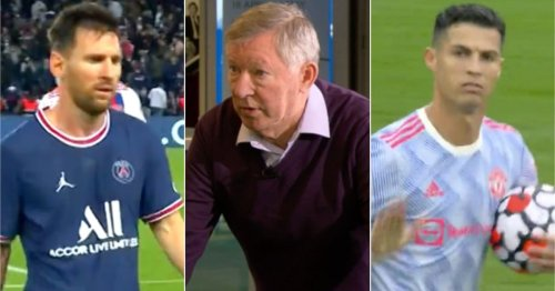 Sir Alex's Messi vs Ronaldo comments re-emerge after their starts to PSG & Man Utd spells