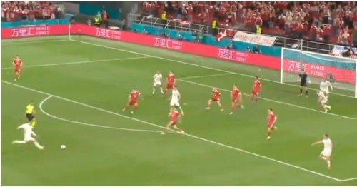 Andreas Christensen just scored an absolute firecracker to send Denmark wild at Euro 2020
