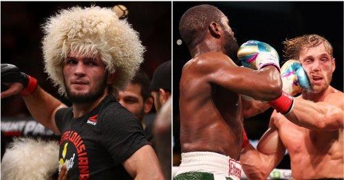Khabib has finally reacted to Floyd Mayweather's boxing match vs Logan Paul & he's so right